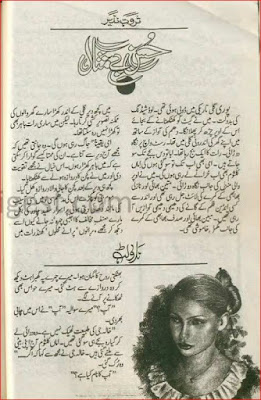 Husan e bemisal novel by Sarwat Nazir Online Reading.