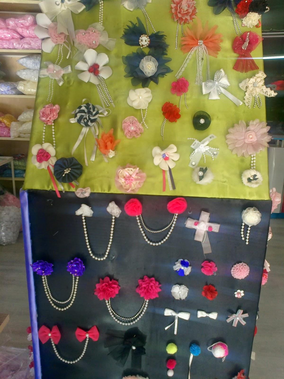 Elbiseler için yapay çiçek imalatı süsleme çiçekleri tekstil aksesuar