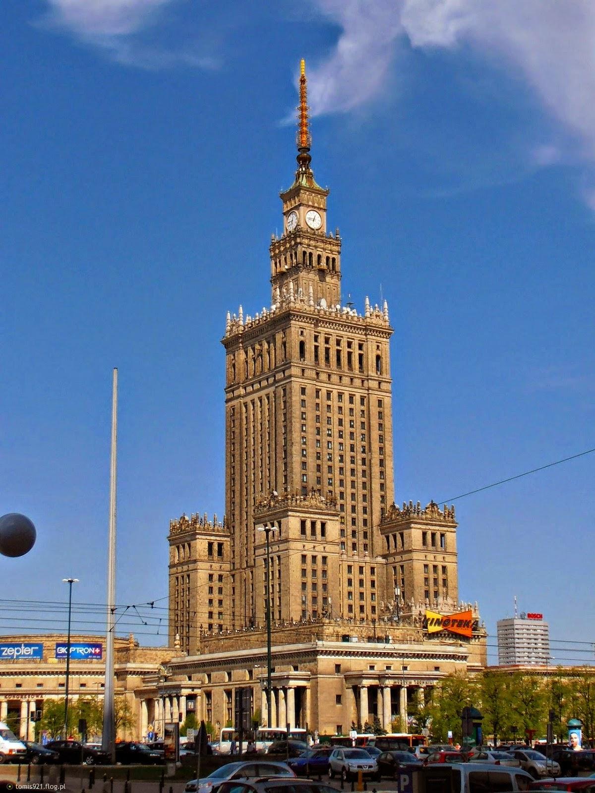 Paladset for Kultur og Videnskab, Warszawa, Polen