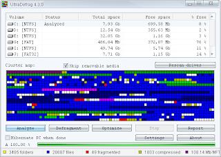 UltraDefrag 5.0.0 Beta 3: Defragmenter Cepat dan Aman