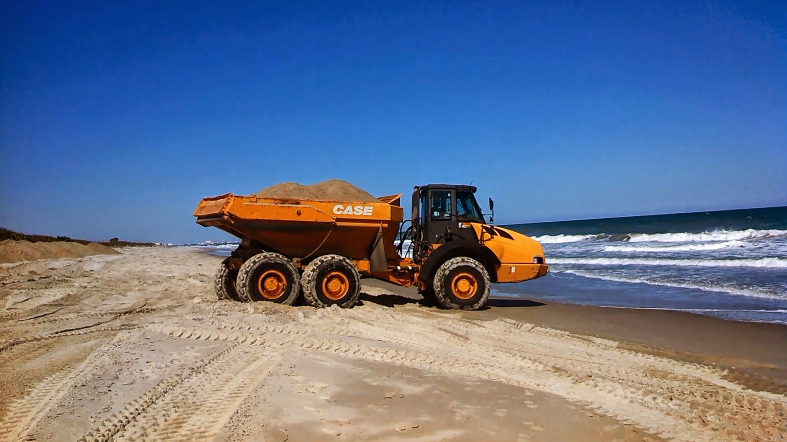 Beach Re-nourishment Hurricane Sandy