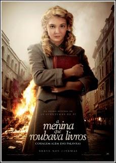 Filme Poster A Menina que Roubava Livros DVDSCR XviD Dual Audio & RMVB Dublado