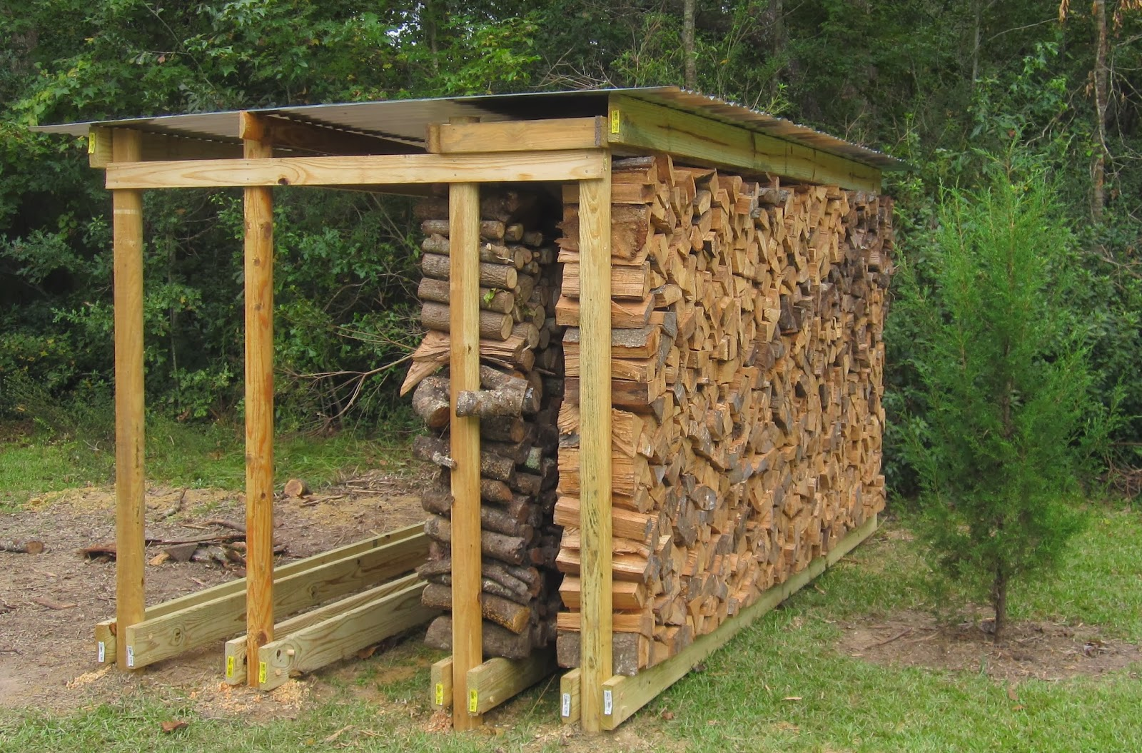 Covered Firewood Rack Plans Plans post and beam barn plans | $*# MEN ...