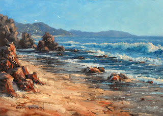 seascape painting workshop in oil