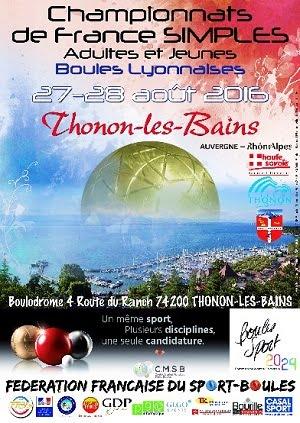 Préparez le France Simple 2016 à Thonon