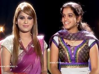 Singer Niharika in Kathi Karthika show
