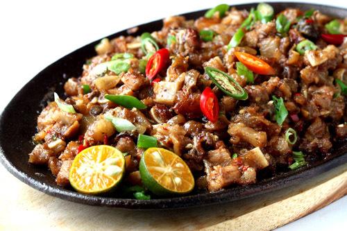 Filipino Taste: SIZZLING SISIG