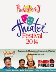 Theatre festival 2014 in Pondicherry