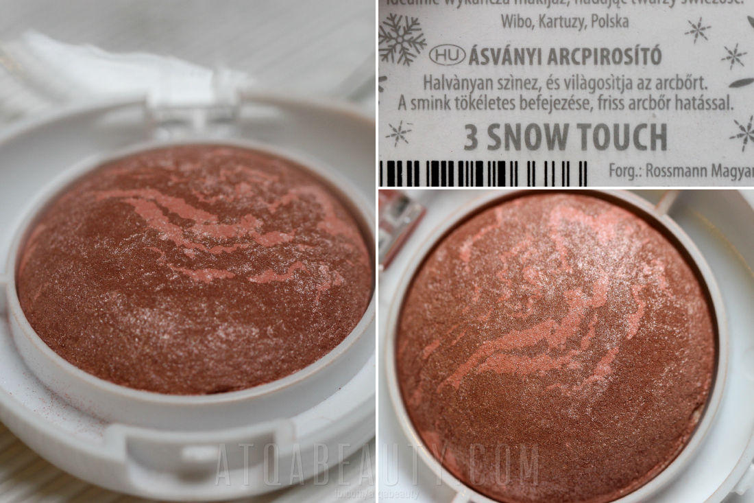 Lovely :: Snow Blusher • Terracotta Blusher • 3 Snow Touch