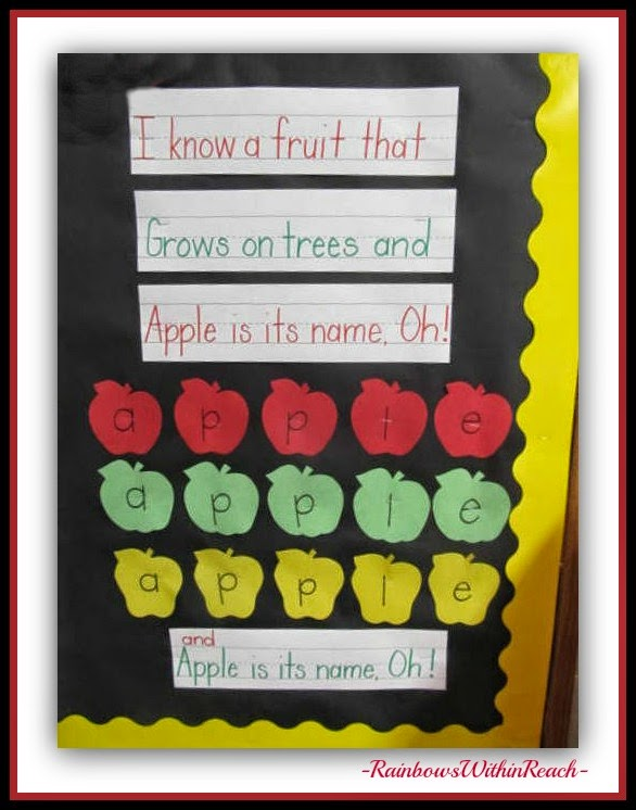 APPLE RoundUP at RainbowsWithinReach: Piggyback Song for Back-to-School