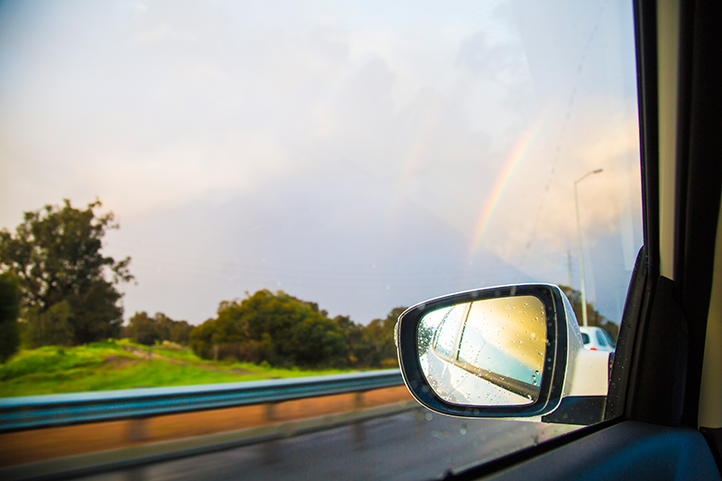 CrystalPhuong- Singapore Travel Blog- View from my rear view mirror