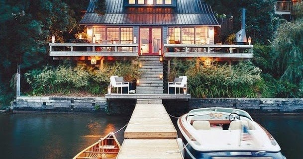 Thom Filicia Lake House oh,the way: last weekend at the lake house before winter