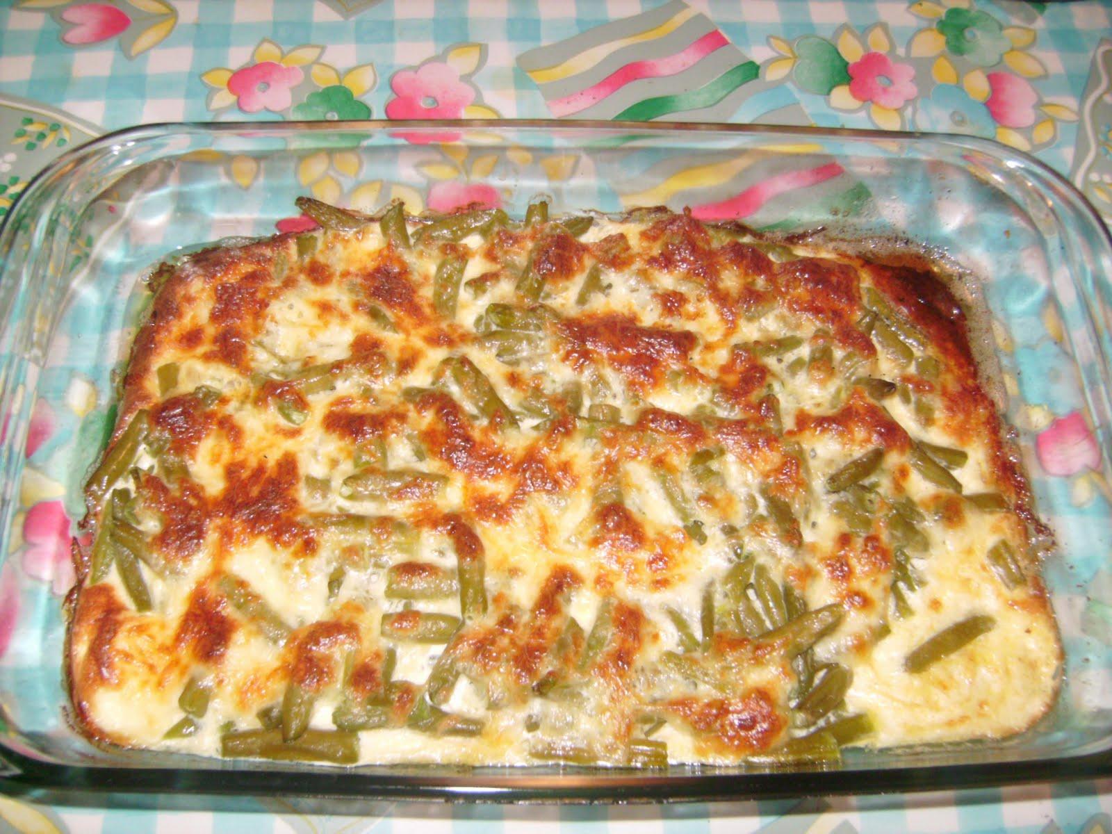 I love recetas jud as verdes gratinadas - Como preparar unas judias verdes ...