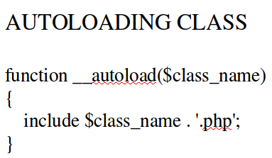 membuat autoloading class