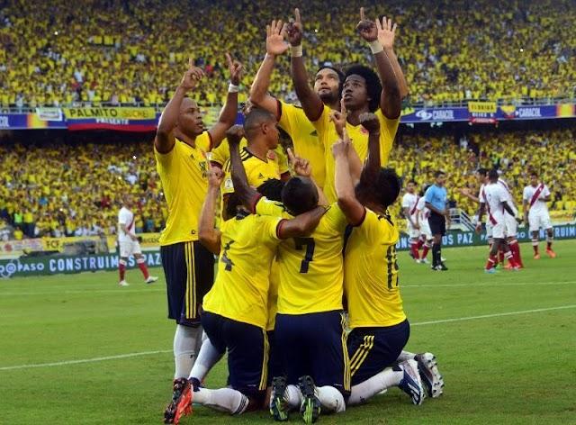 A Colômbia na Copa América!