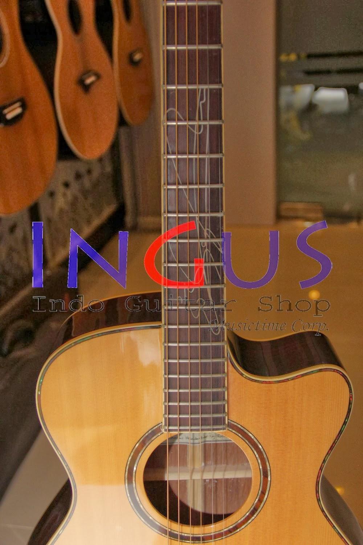 Jual Gitar Lakewood Sunghajung Acoustic SOLID Custom
