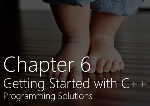 Chapter 6 Getting Started With C Programming Questions