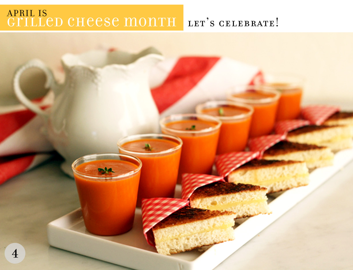 Parsimonia {Secondhand With Style}: April Is {Grilled Cheese Month}