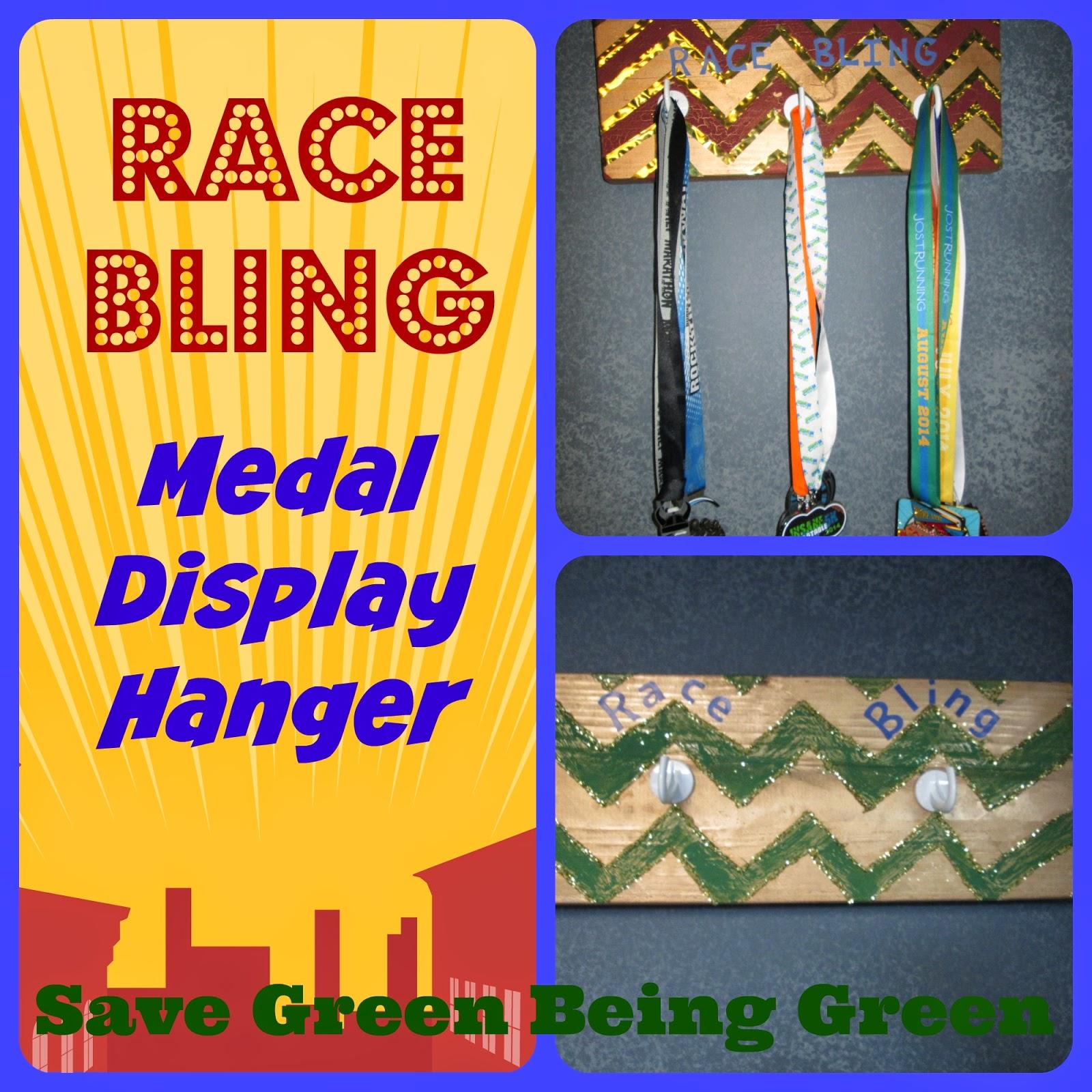 Race Bling Medal Holder Race Bling Medal Display