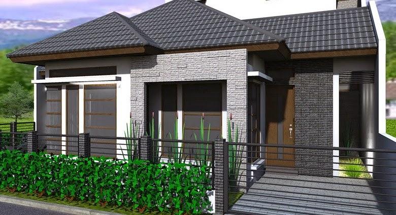 Desain Rumah Minimalis Tambak Depan Terbaru 2015 Modern