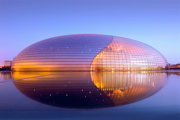 Design inspiration 3d the 8 most awesome buildings of the for National centre for the performing arts architecture