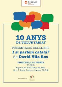 Presentació 'I si parlem català?' a Teià