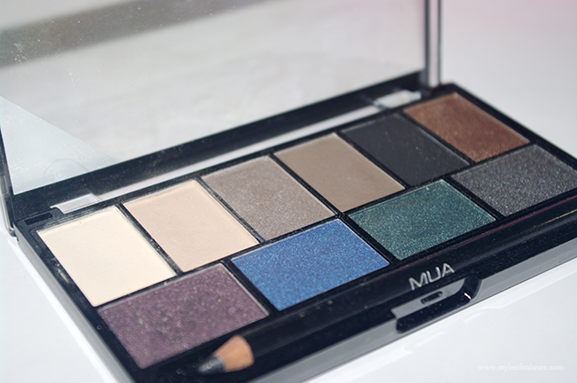 MUA MAkeup Academy Smokin Palette Review