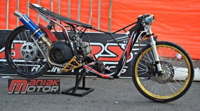 Drag Bike 2015 Jelang Pemalang: Matik 200 Terbaru Ha Feat Hk Mc Racing, Target 7,5 Detik!