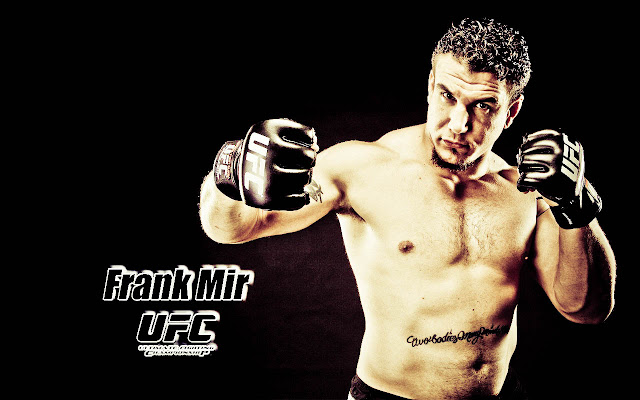 ufc mma fighter frank mir wallpaper image picture