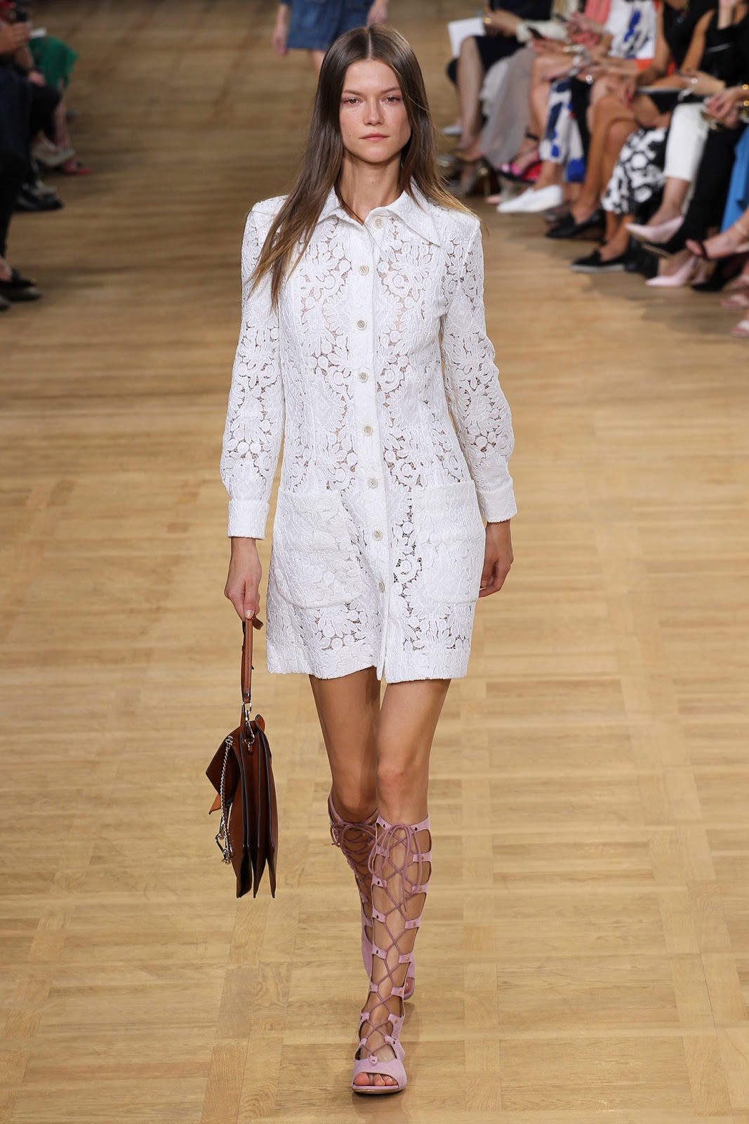 spring/summer 2015 trends / shirtdress / history of shirt dress / chloe spring 2015 / via fashioned by love british fashion blog