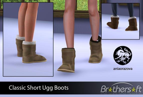 Ugg Short Boots Classic5