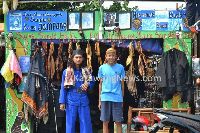HUT Karawang, Bekah Bagi Penjual 'Pangsi Hideung'