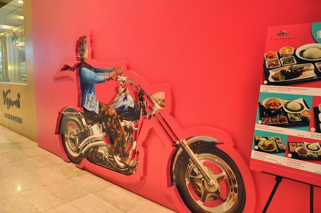 Grandmama's Flavours Of Malaysia @ Pavilion KL (Shown with their signature Grandmama on a Harley)