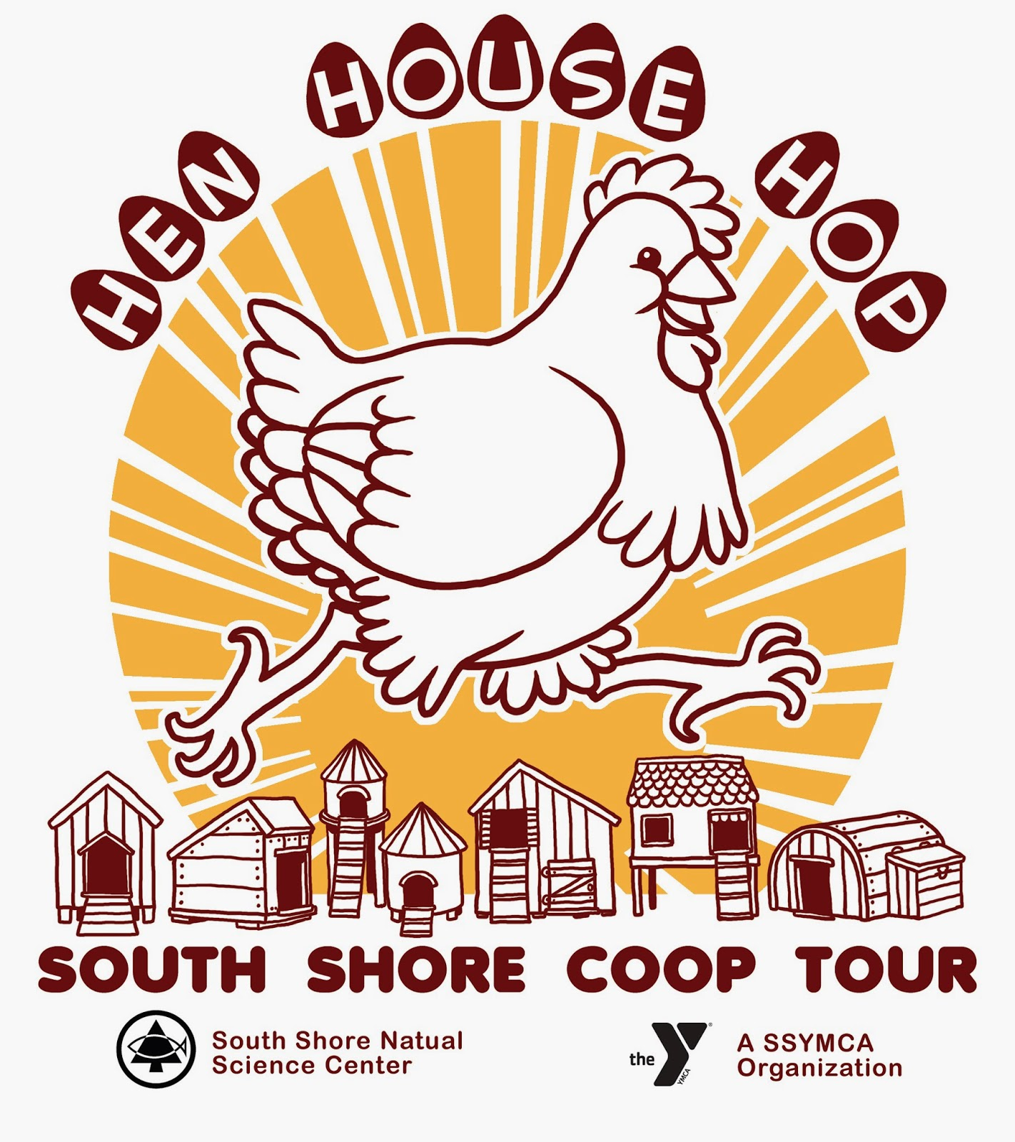 The coloring book tour opener - In Norwell Massachusetts The South Shore Natural Science Center Sponsors The Hen House Hop A Tour Of Local Coops That Starts At The Center