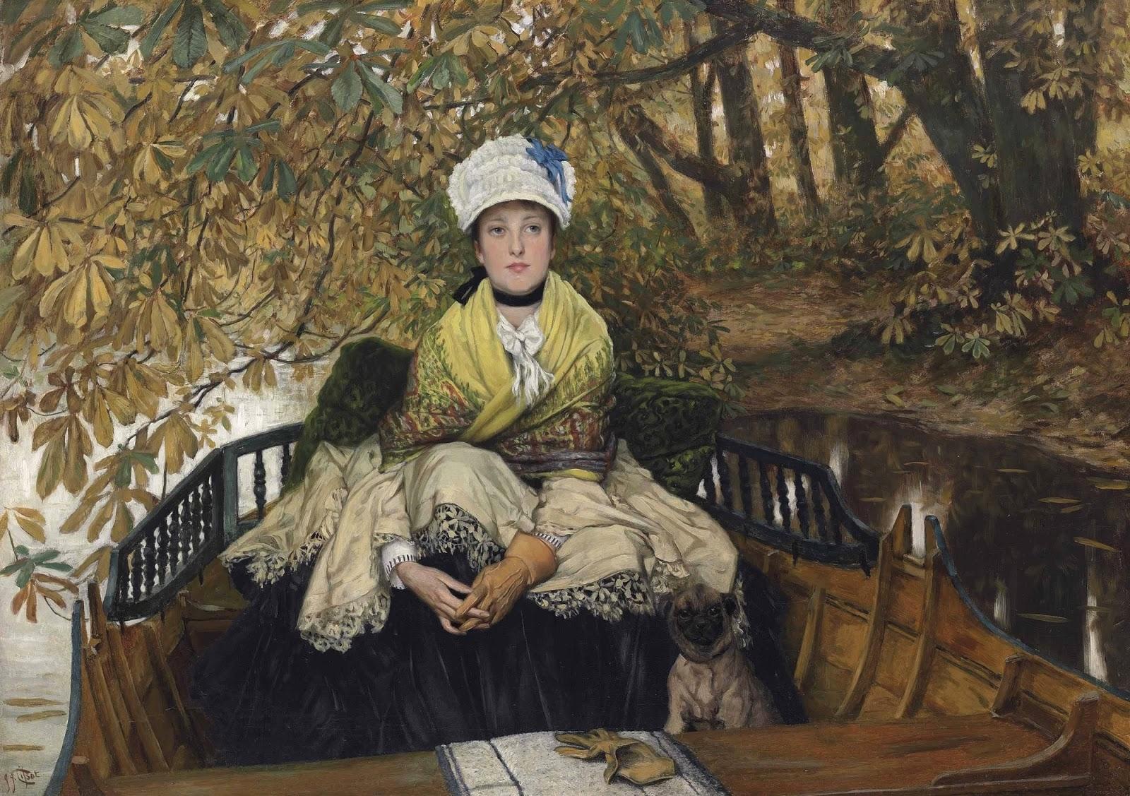 Французская живопись XIX века. Джеймс Тиссо картины