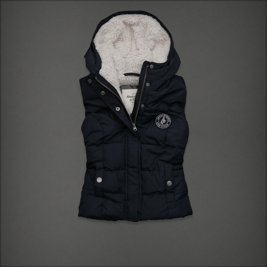 Chaleco Abercrombie Mujer