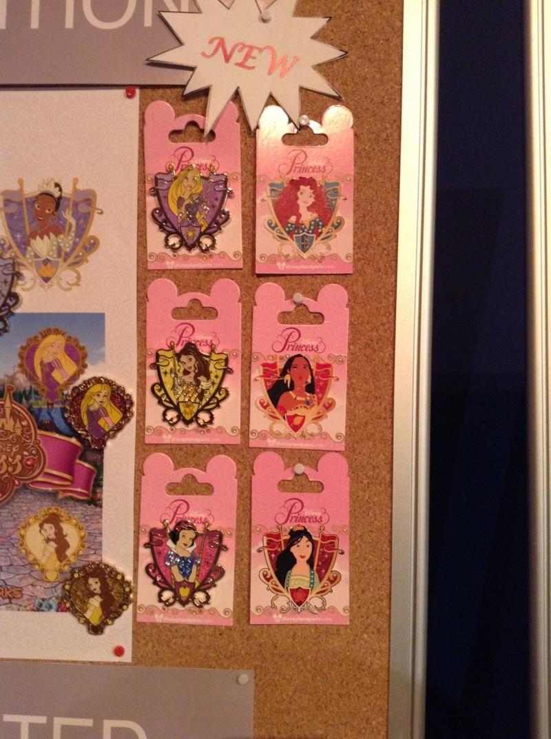Princess pins