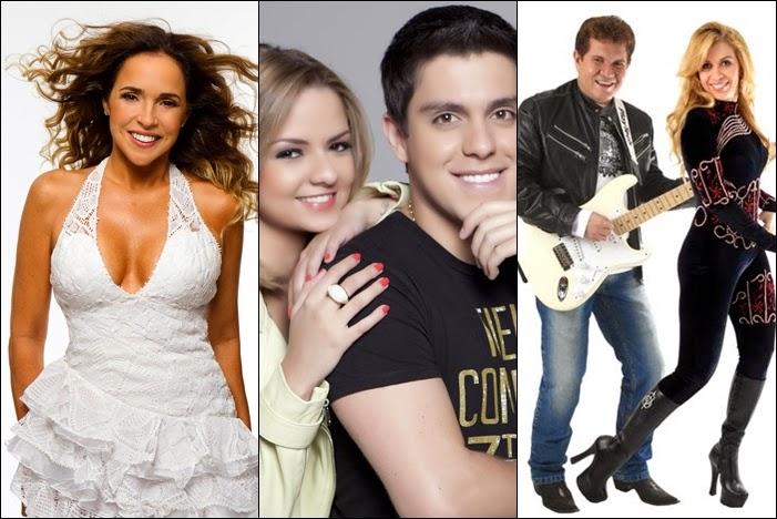Daniela Mercury, Maria Cecilia e Rodolfo e Banda Calypso comandam Fifa Fan Fest em sua ultima semana