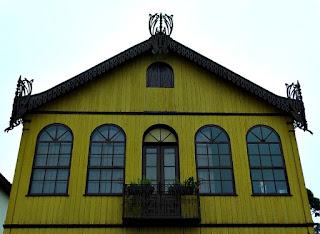 Casa da Neni, na Praça Garibaldi, Antônio Prado