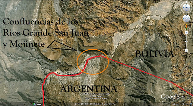 Cuales son y que hay en los extremo territoriales argentinos