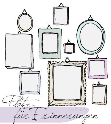 alessas blog erinnerungen an der wand. Black Bedroom Furniture Sets. Home Design Ideas
