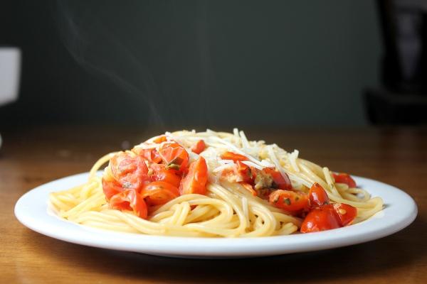 creamy tomato basil pasta 20 minutes serves 4 1 pound pasta 2 ...