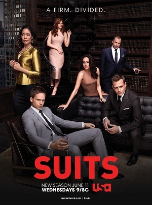 Suits (Homens de Terno) -  8ª Temporada Séries Torrent Download capa