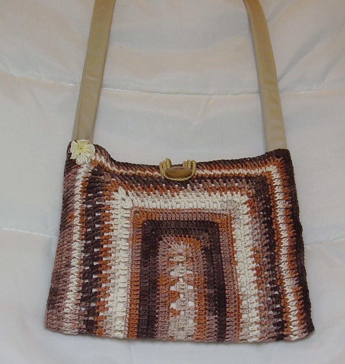 Patrones de como hacer bolsos tejidos a crochet imagui - Como hacer bolsos tejidos ...