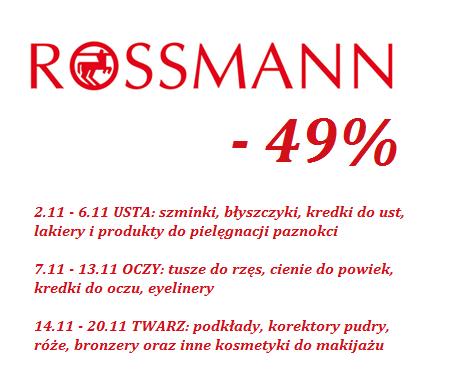ROSSMANN , PROMOCJA -49%. CO KUPIĆ? MOJA WISHLISTA.