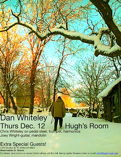 Dan Whiteley CD Release Party @ Hugh's Room, Thursday