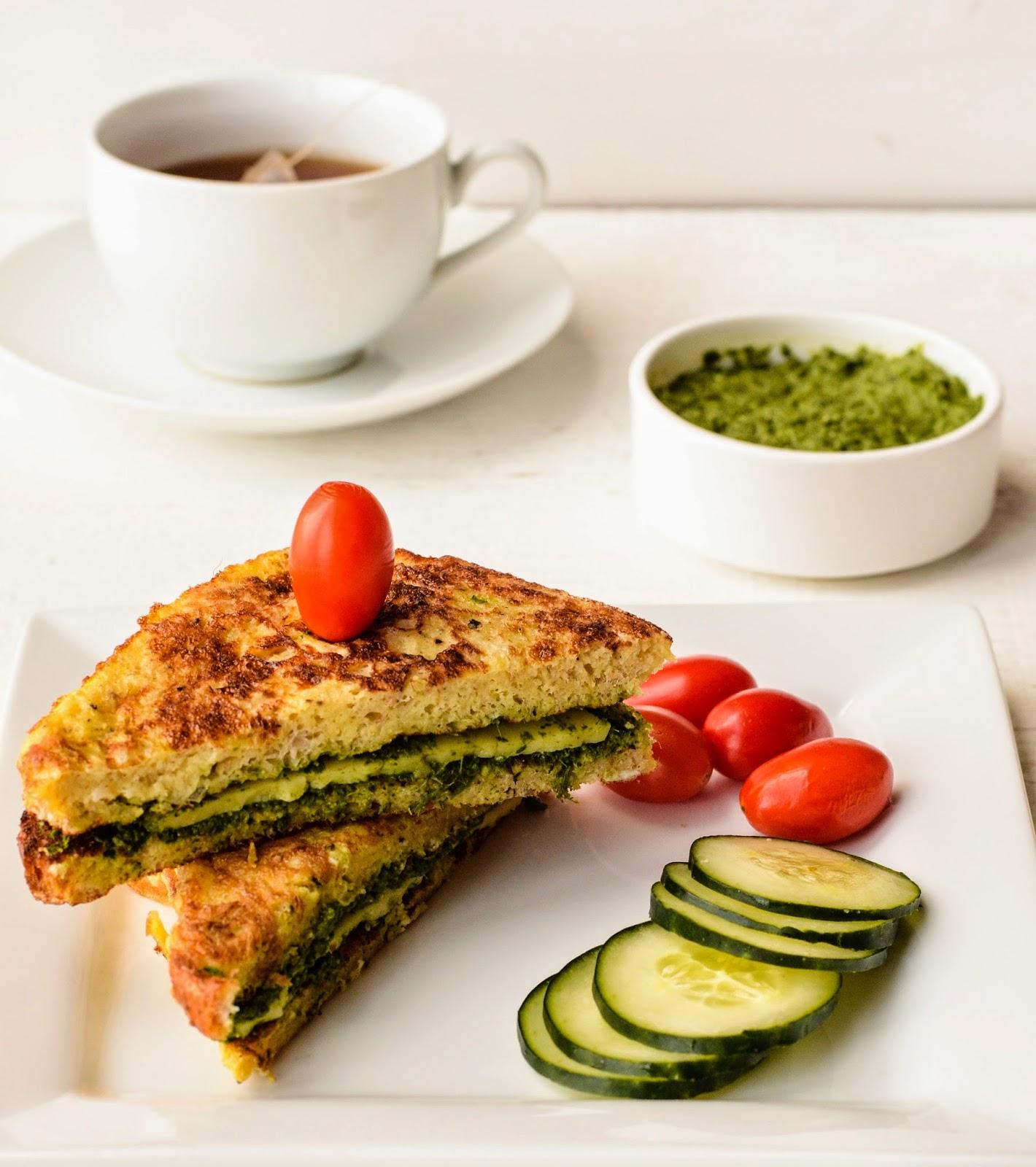 Savory French Toast inspired by Jayati