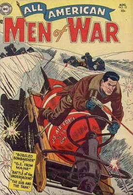 All-American Men of War 12 cover