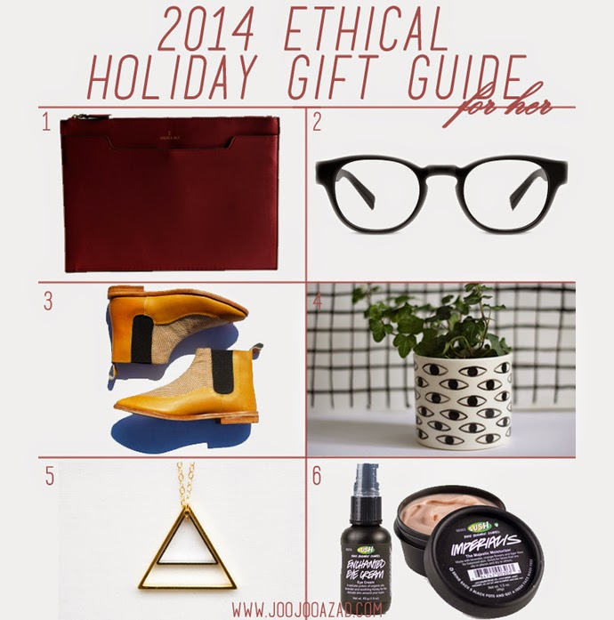 giftguide, alternative gift ideas, unique gift guide, ethical fashion, socially-responsible brands