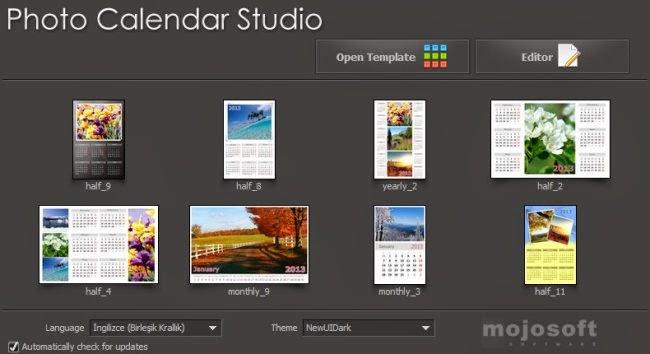 Photo Calendar Studio 2015.1.20